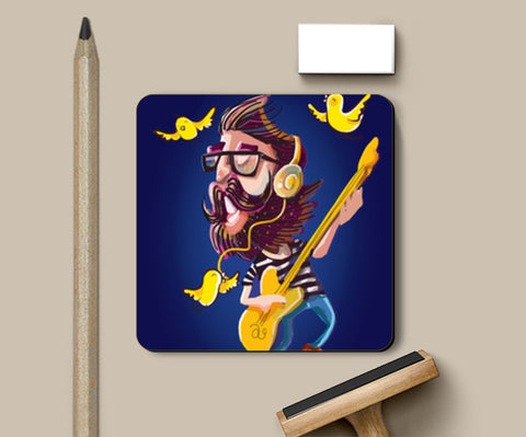 musical journey Coasters | Artist : abhijeet sinha