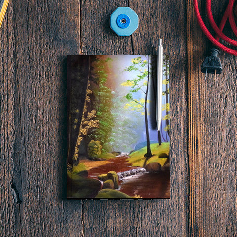 Forest Oil Painting Notebook | Artist : Rahul Tanwar