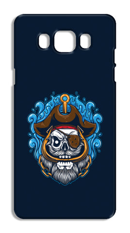Skull Cartoon Pirate Samsung Galaxy J7 2016 Cases | Artist : Inderpreet Singh