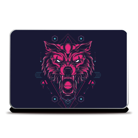 The Wolf Laptop Skins | Artist : Inderpreet Singh