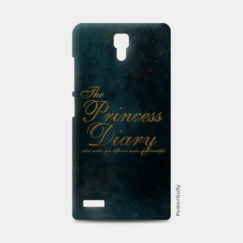 the princess diary Redmi Note Cases | Artist : abhijeet sinha