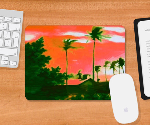 Mousepad, Painting SCN 3 Mousepad | Artist : CK GANDHI, - PosterGully
