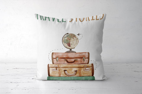Travel stories  Cushion Covers | Artist : Colour me expressive