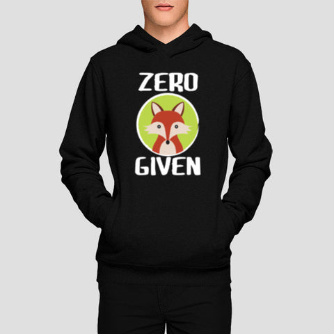 Hoodies, Zero Fox Given Hoodies | Artist : Random Chinese Friend, - PosterGully - 1