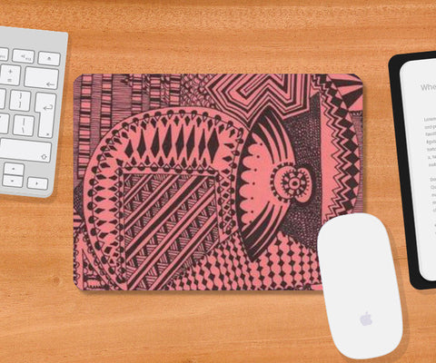 Mousepad, Abstract Mousepad | Artist : Meanderings, - PosterGully