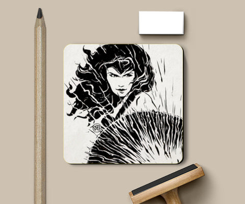 Wonder Woman fan art Coasters | Artist : Monisha Miriam