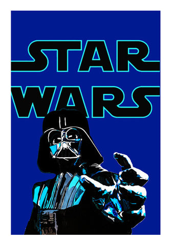 Darth Vader, Star Wars illustration Wall Art | Artist : Aninya Gangal