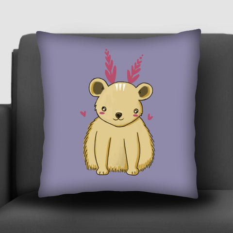 Cute Baby Bear Cushion Covers | Artist : Prajakta Rao