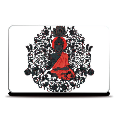Meditation in Dark Laptop Skins | Artist : Harsimran sain