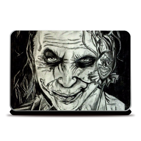 Laptop Skins, Joker Sketch Laptop Skin | Artist: Abhinav Moona, - PosterGully