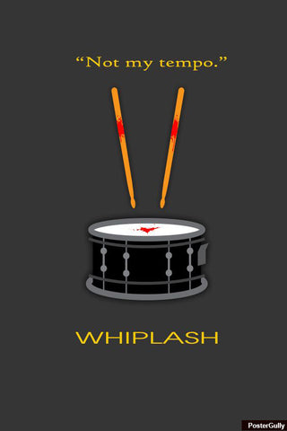 Brand New Designs, Whiplash Artwork | Artist: Loco Lobo, - PosterGully - 1