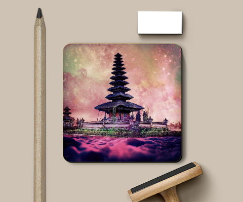 Coasters, Chinese Temple Coaster | Divakar Singh, - PosterGully