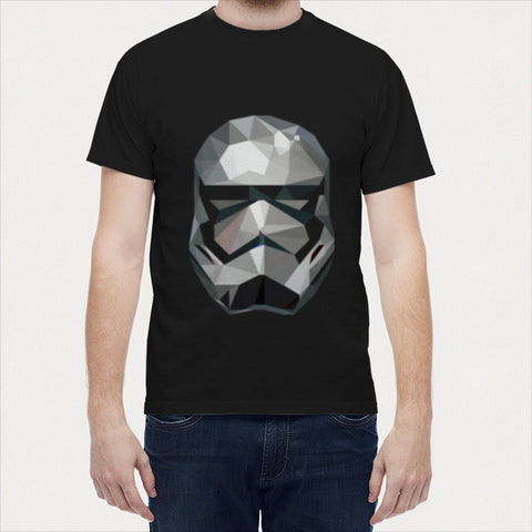 Men T Shirts, Star Wars EP VII Stormtrooper Men T Shirts | Artist : Shashank Ahuja, - PosterGully - 1