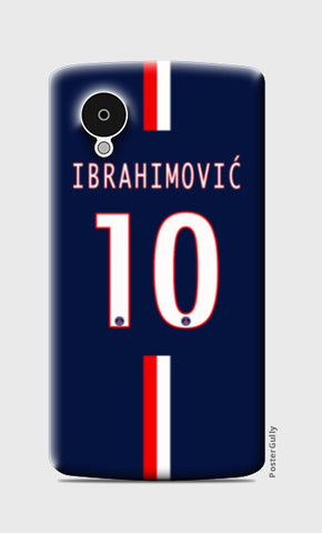 Nexus 5 Cases, Zlatan Ibrahimović  Nexus 5 Case | Artist: GS, - PosterGully