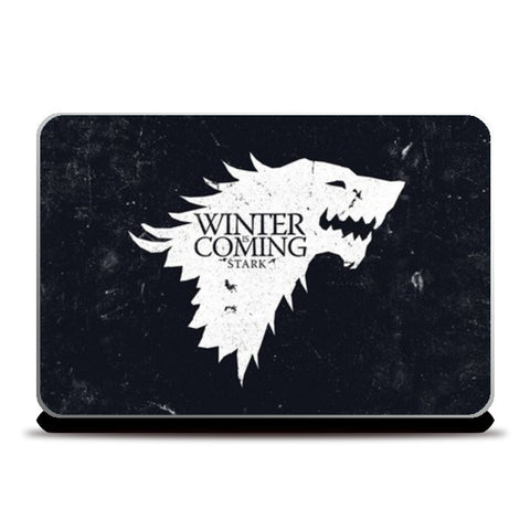 Winter Is Coming Laptop Skins | Artist : Navdeep Sharma