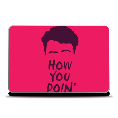 Laptop Skins, Joey From Friends Laptop Skins | Artist : Mohak Gulati, - PosterGully