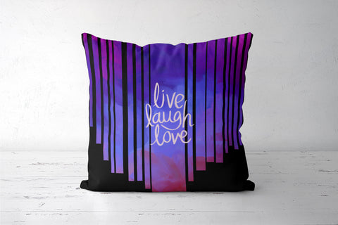 Live Laugh Love Quote Cushion Covers | Artist : Pallavi Rawal