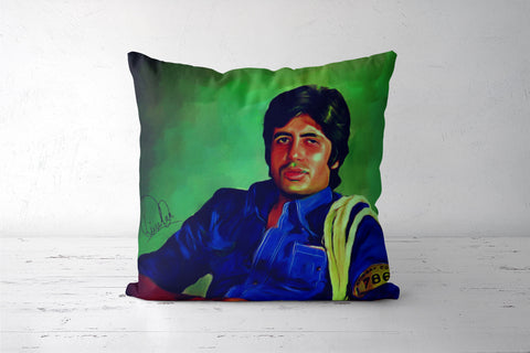 Amitabh Bachchan Cushion Covers | Artist : Delusion