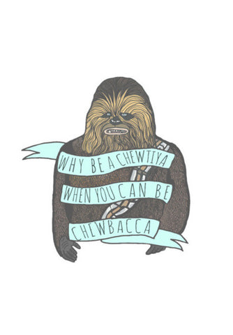 Chewbacca Wall Art | Artist : Priyanka Paul