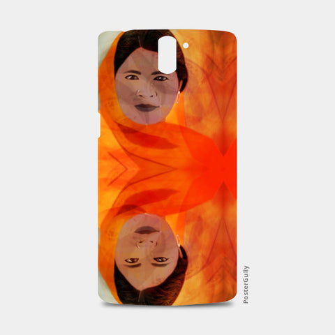 Becoming The Fire - Indian Woman One Plus One Cases | Artist : Rameshwar Chawla