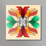 Flower Square Art Prints | Pratyasha Nithin