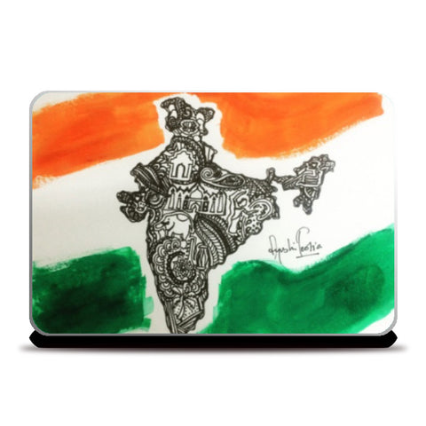 Laptop Skins, Yeh Mera india Laptop Skin | Artist: Ayushi Teotia, - PosterGully