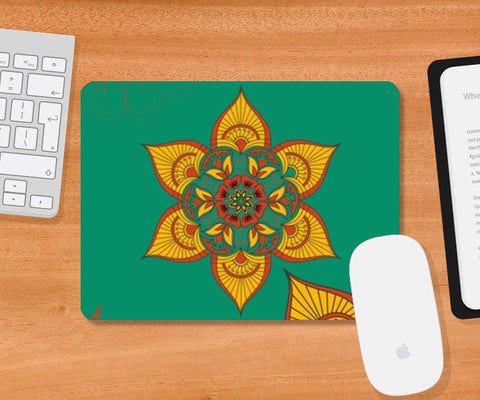 Indian Traditional Mousepad | Artist : Tiny Dots