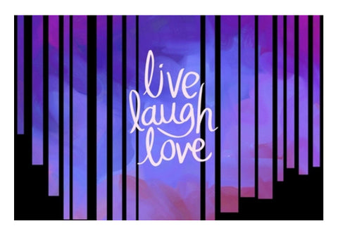Live Laugh Love Quote Wall Art  | Artist : Pallavi Rawal