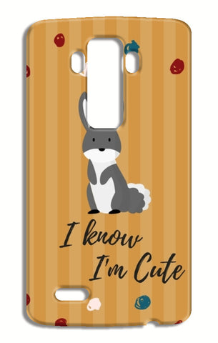 I know I'm Cute LG G4 Cases | Artist : Pallavi Rawal
