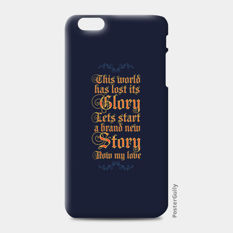 A new story iPhone 6 Plus/6S Plus Cases | Artist : Abhishek Faujdar