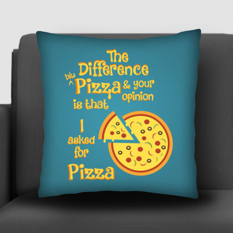 Pizza Cushion Covers | Artist : Arif Ahmad