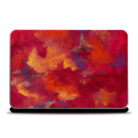 Autumn Clouds Laptop Skins | Artist : Shubhangni Gupta