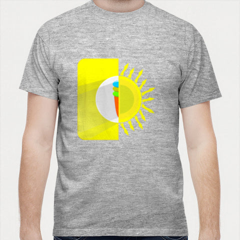 Sun ice cream Men T Shirts | Artist : vazir singh