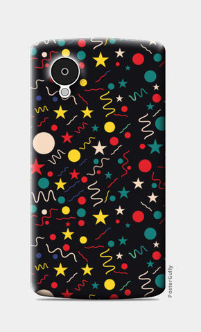 Seamless abstract pattern with geometric shapes Nexus 5 Cases | Artist : Designerchennai