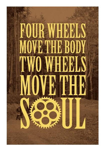 PosterGully Specials, Move the SOUL Wall Art | Artist : Throttlerz Group | PosterGully Specials, - PosterGully