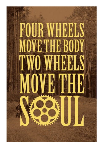 Wall Art, Move the SOUL Wall Art | Artist : Throttlerz Group, - PosterGully