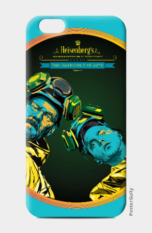iPhone 6 / 6s, Heisenberg Breaking Bad iPhone 6 / 6s Case | Pratik Kamat, - PosterGully
