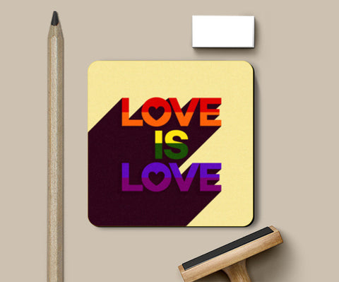 Coasters, Love is Love Coasters | Artist : Tanvi C, - PosterGully