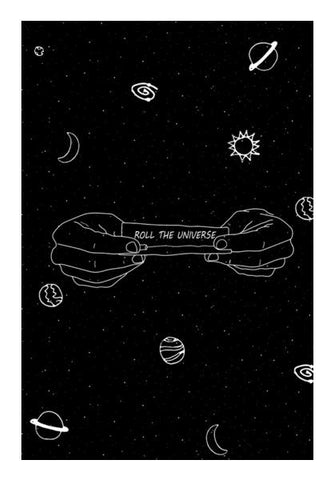 PosterGully Specials, roll the universe Wall Art | Artist : godisbusy, - PosterGully