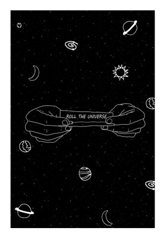 roll the universe Wall Art | Artist : godisbusy
