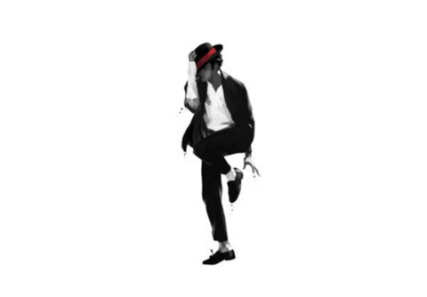 PosterGully Specials, king of pop Wall Art  | Artist : dooo, - PosterGully