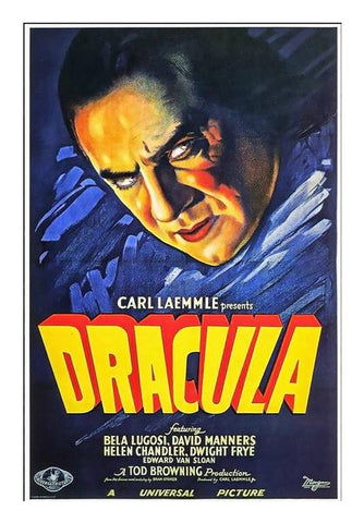 Dracula Wall Art PosterGully Specials