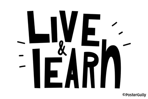 Live Learn Artwork