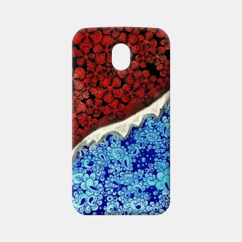 Fire and Ice!! Moto G3 Cases | Artist : Chaitanya Deepti
