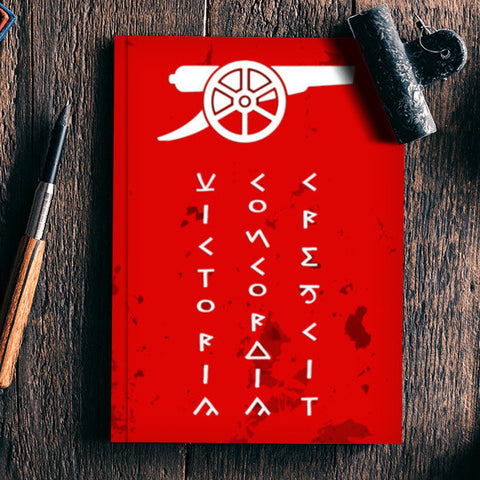 Gunners Arsenal F.C. Notebook | Artist : Gurmeet
