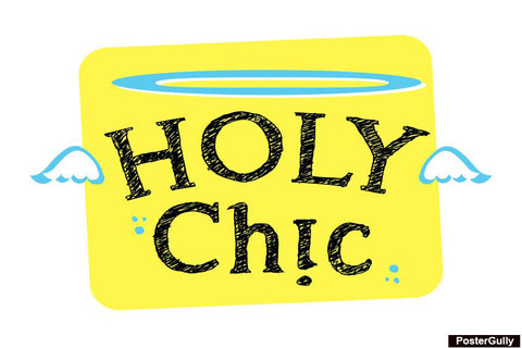 Brand New Designs, Holy Chic Artwork | Artist: Prajakta Kavthekar, - PosterGully - 1