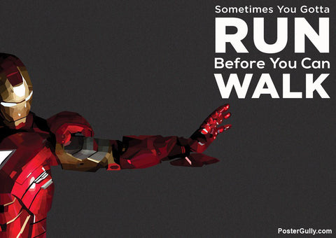 Wall Art, Iron-Man Quote Artwork | Artist: Rohit Malhotra, - PosterGully - 1