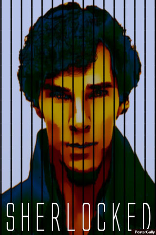 Wall Art, Sherlock Lined Artwork | Artist: Prashant Negi, - PosterGully