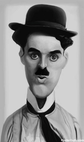 Wall Art, Chaplin Artwork | Artist: Sri Priyatham, - PosterGully - 1