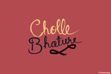 Brand New Designs, Cholle Bhature Food Artwork, - PosterGully - 1
